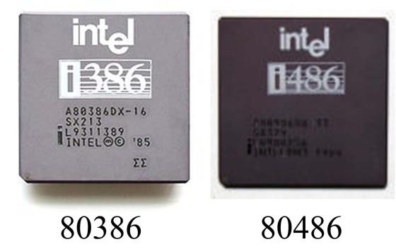 386 - 486 Processor