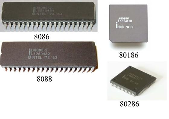 Processor Intel Generasi Pertama