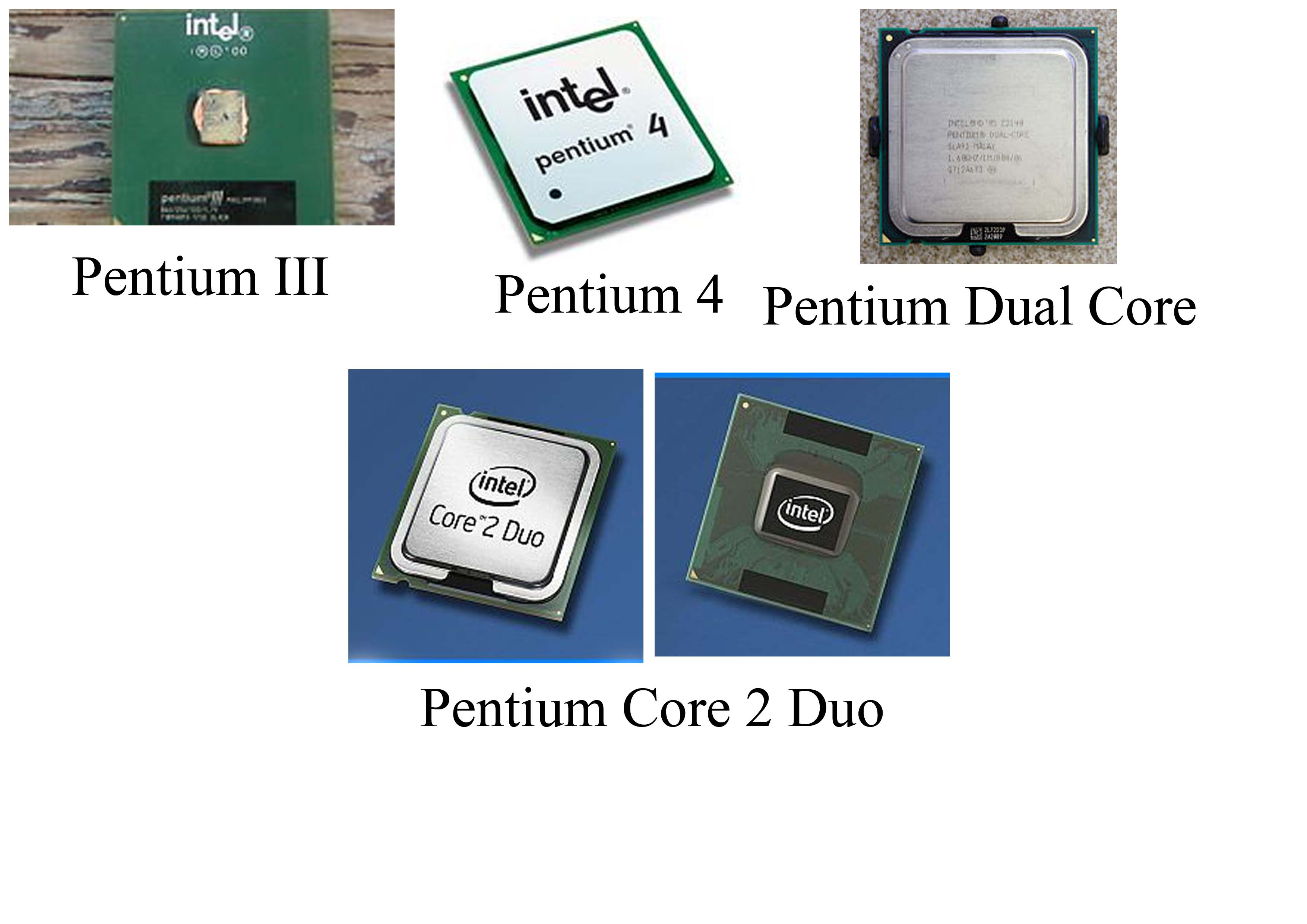 a study of the pentium pro processor The pentium ii microprocessor was largely based upon the microarchitecture of its predecessor, the pentium pro, but with some significant improvements unlike previous pentium and pentium pro processors, the pentium ii cpu was packaged in a slot-based module rather than a cpu socket.