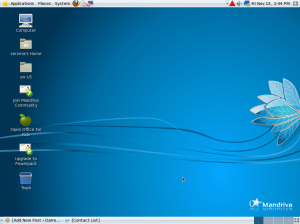 Desktop Mandriva One
